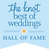 The Knot Best of Weddings Hall of Fame