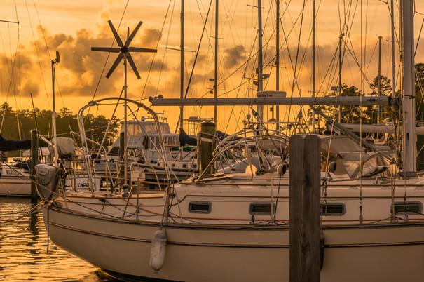 Marina in North Carolina