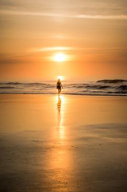 Sunrise at the beach in South Carolina