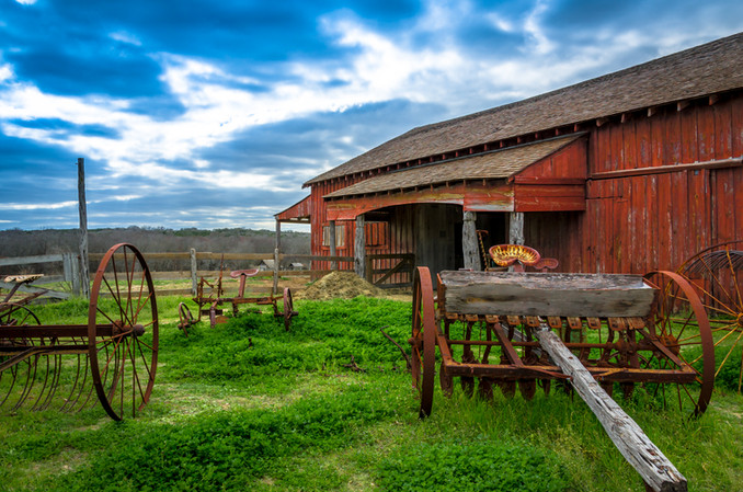 The Red Barn ©2012_Len_Bishop_20120226.j