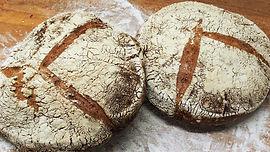 Frazösischen Steinmühlen Brot