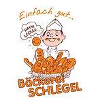 Firmen Logo Bäckerei Schlegel
