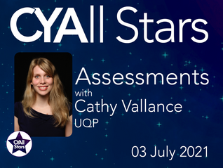 UQP's Cathy Vallance Editor Assessments