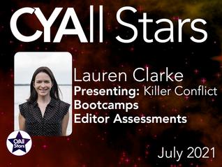 Lauren Clarke's in for a very busy July