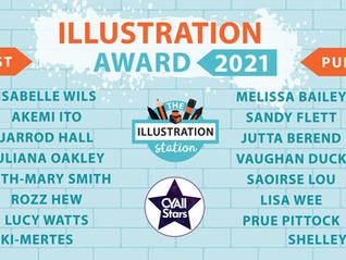 Illustration Station & CYA Conference Illustration Award Shortlist Announced