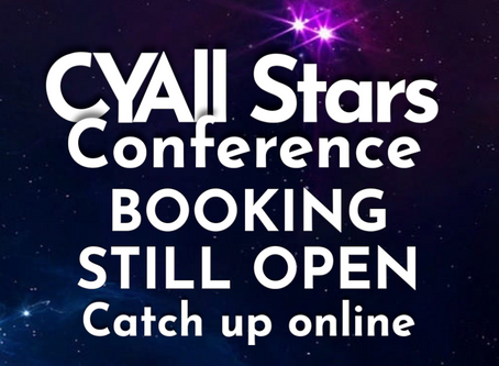 Booking still open for #CYA2020