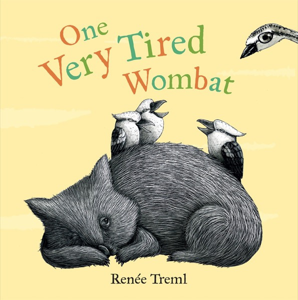Renee Treml - one very tired wombat