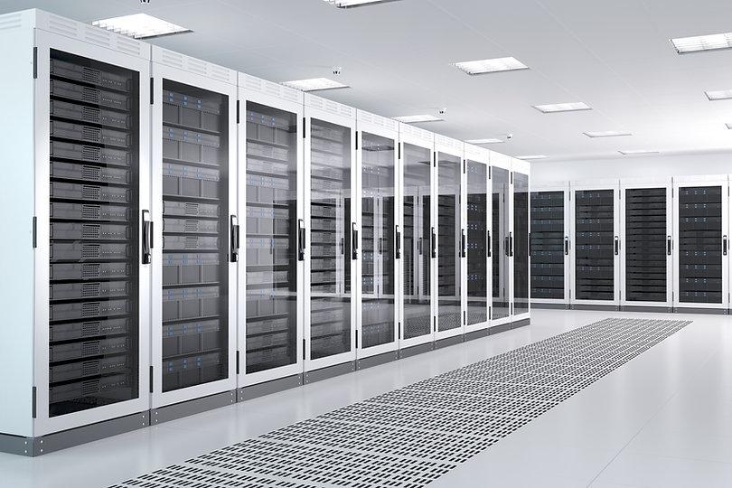 White Server Room Network_communications server cluster in a server room. CG Image..jpg