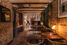 Our cosy bar