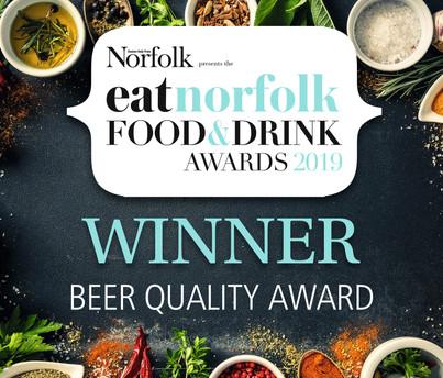 Beer Quality Award Winner 2019