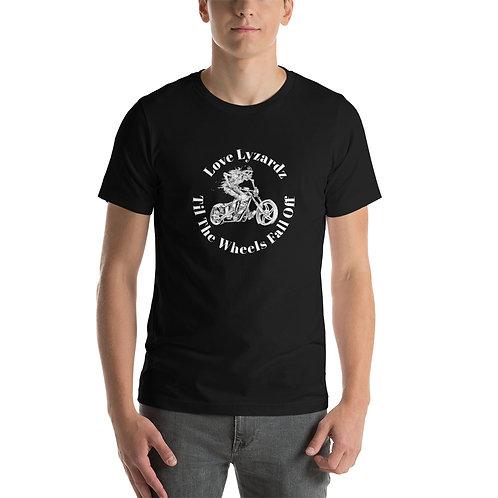 Love Lyzardz - Til The Wheels Fall Off - Short-Sleeve Unisex T-Shirt