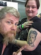 Michael Cudlitz - Zombies Tattoos Romford
