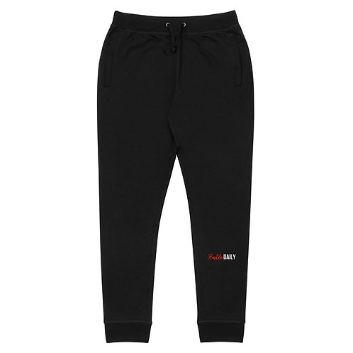 Hustle Daily Skinny Joggers (Red)