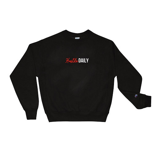 Hustle Daily Crewneck (Red)