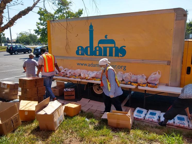ADAMS Center - Sully - Food Distribution