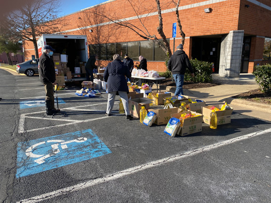 ADAMS Center - Sully - Food Distribution