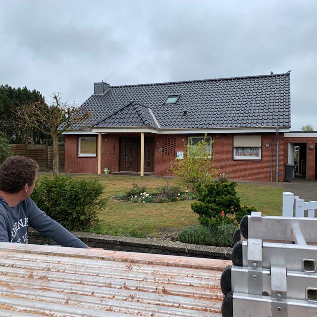Altbausanierung Vordach Dachsanierung