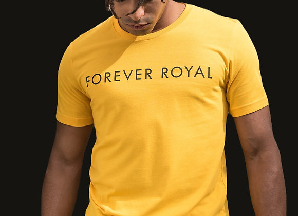 Royal Tee w/ Black Letters