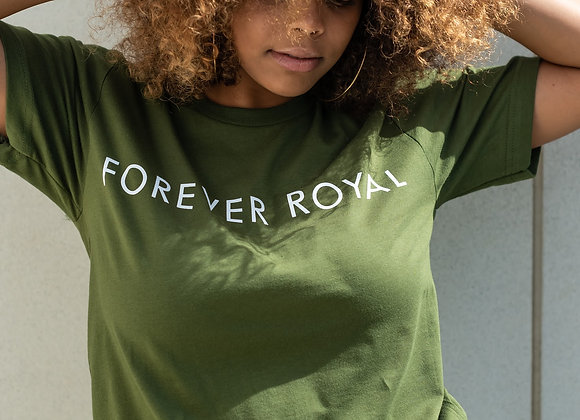 Royal Tee w/ White Letters