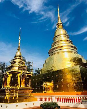 Wat Phra Singh - um dos templos mais fam