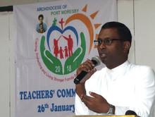 Fr Clifford Morias sdb welcomes the teachers.jpg