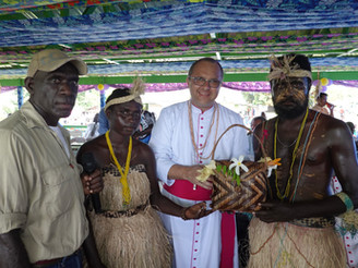 New Bishop Welcomed the Bougainvillean Way