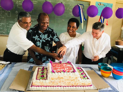 Catholic Professionals Launch 4th Chapter in Lae