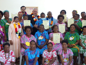 DMI Sewing School Graduates 48 Women