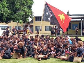 Catholic Schools in Rabaul Honour Sir Michael Somare