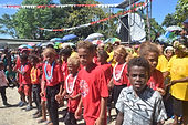 Sunday Scool Children performed during t