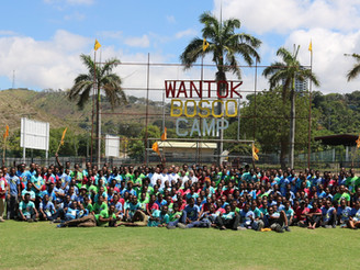 Environmental Fraternity Highlighted in Wantok Bosco Camp