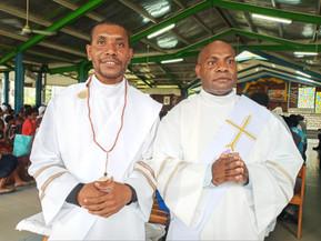 Alotau celebrates Ordination of Seminarians