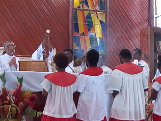 Rabaul Deanery Launches 3rd Year of Laity