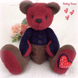 Jointed Bear 35cm with pants