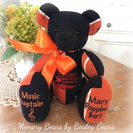 Jointed Graduation Bear - 35cm