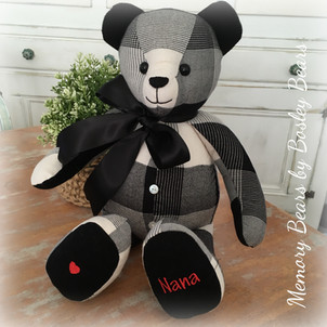 Non Jointed Bear 50cm