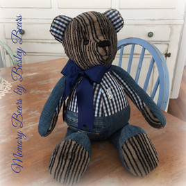 Non Jointed Bear with Pants
