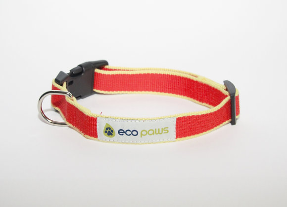 Bamboo Red Collar
