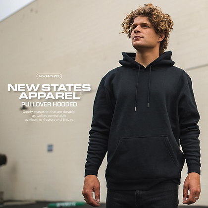 New States Apparel 9500 Hoodie