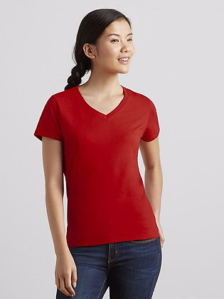 63V00L Ladies' V-Neck