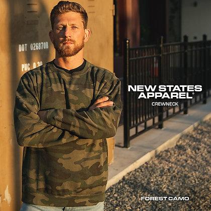 New States Apparel 9000 Sweatshirt CAMO