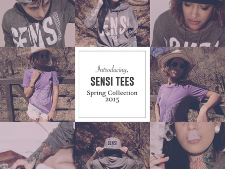 Introducing SENSI TEES  Spring Collection 2015