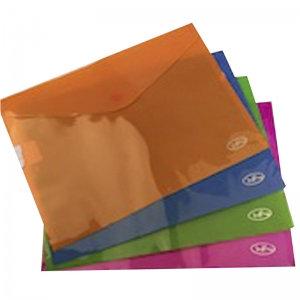 Folder con broche horizontal