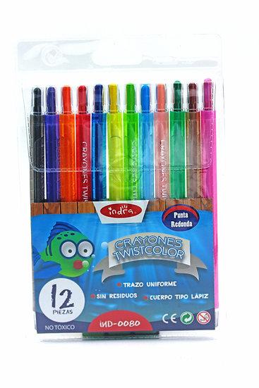 Crayones twistcolor
