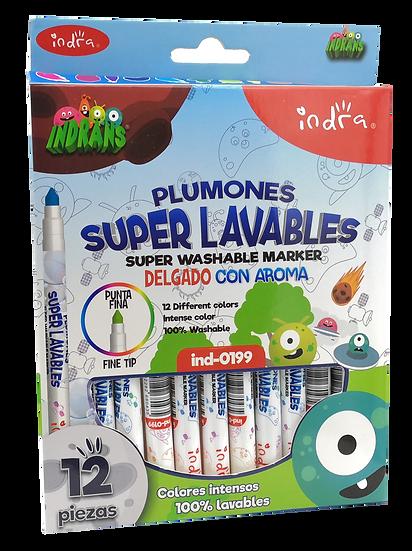 PLUMONES SUPER LAVABLES INDRANS 24