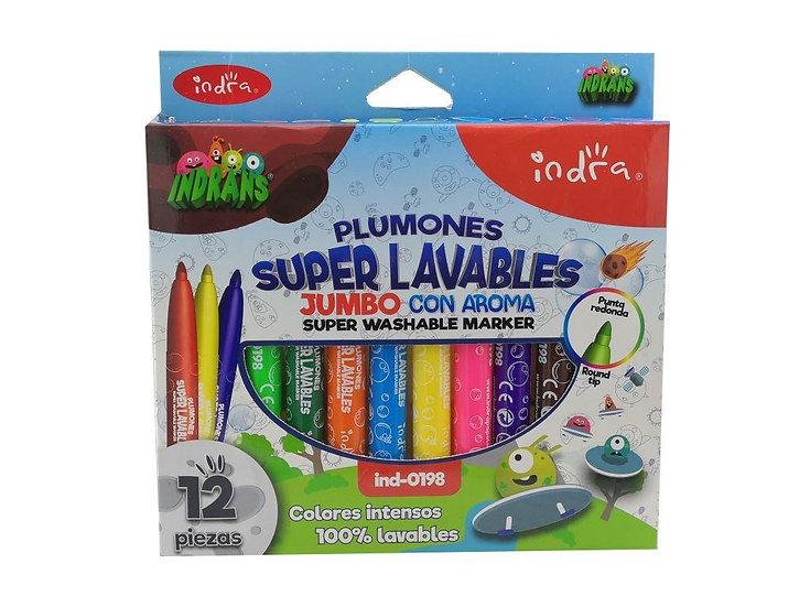 PLUMONES SUPER LAVABLES INDRANS 12