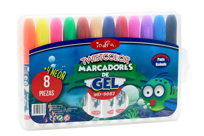 Twistcolor marcadores de gel
