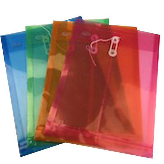 Folder con hilo vertical