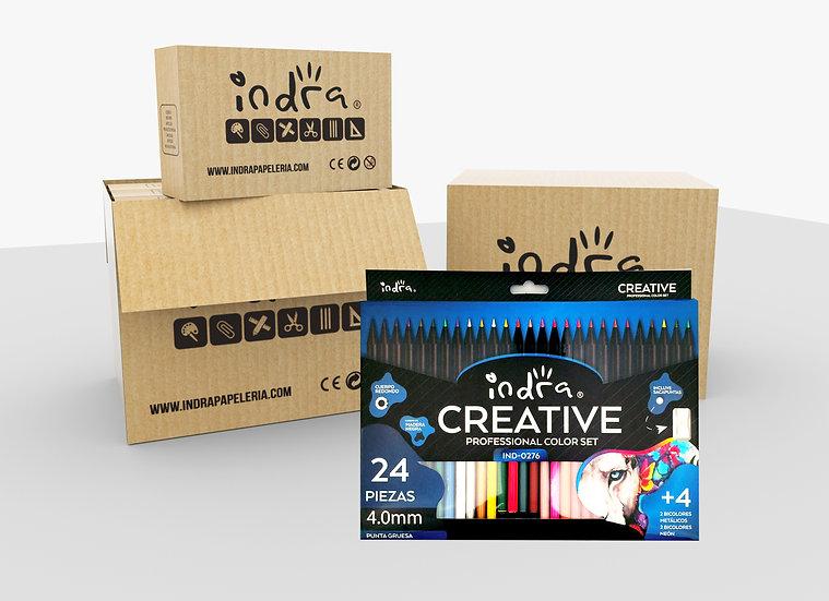 Master box Indra CREATIVE 24+4