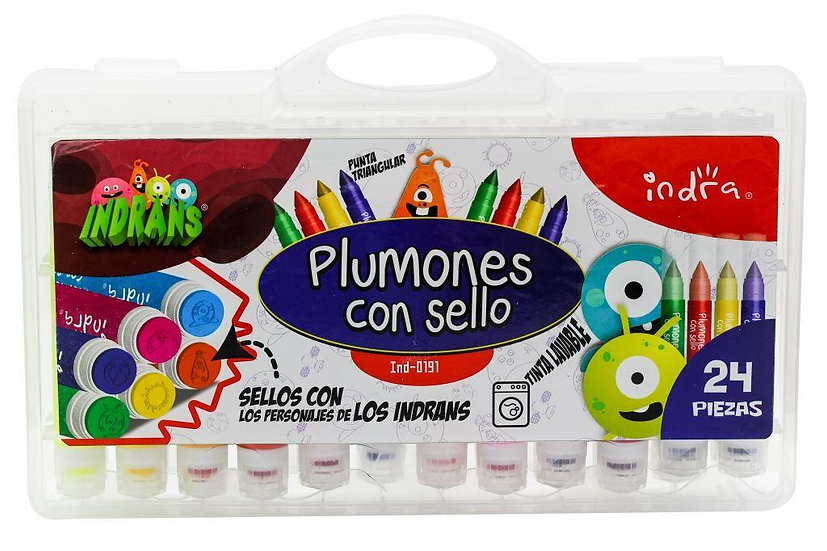 PLUMONES CON SELLO